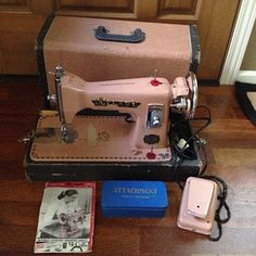 Atlas Sewing Machine from the 1950's