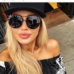 """224 Beğenme, 2 Yorum - Instagram'da Güneş Gözlüğü Gözlük Aksesuar (@kapincom): """"Yeni Model Güneş Gözlüğü 80 TL - Ücretsiz Kargo Stok Kodu : YD1 Hemen Teslim www.kap-in.com Kredi…"""""""