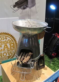 BioLite Turns Stoves into Generators and Powers Group Gadgets