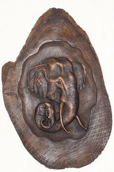 relief,teak,teakholz,ca38-43cm,holzbild,unikat,bild,holz,elefant,wandbild