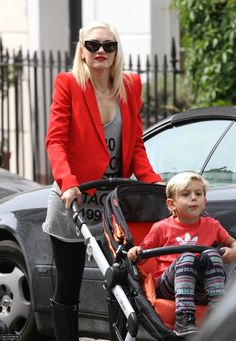 Gwen Stefani - Her sons have to be the most stylish kids in Hollywood.