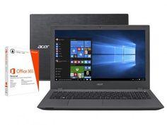 """Notebook Acer Aspire E5 Intel Core i7 6ª Geração - 16GB 2TB LCD 15,6"""" + Pacote Office 365 Personal com as melhores condições você encontra no Magazine Asualojadigital. Confira!"""