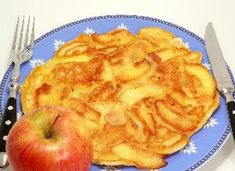 Przepisy kulinarne i gotowanie - Beszamel.se.pl Omelette, Frittata, Apple Slices, Apple Pie, Snack Recipes, Healthy Recipes, Gluten, Granola, Macarons