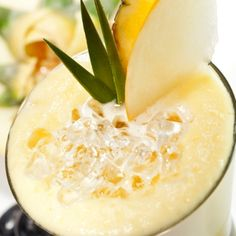 Easy, energizing and refreshing pineapple smoothie recipe made with ingredients to help you awaken in the summer heat.. Creamy Pineapple Smoothie Recipe from Grandmothers Kitchen.