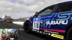 [06] Xbox One Forza 6  Thrustmaster Ferrari 458 Spider Racing Wheel Game...