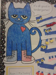 Mrs. Egley's Kindergarten: Pete the Cat