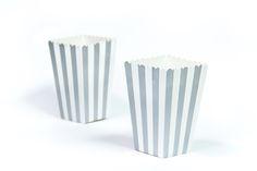 moushii Mini Popcorn Box Silver Stripes   www.moushii.com