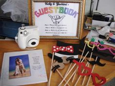Photo Guestbook Booth :  wedding diy Guestbook Booth