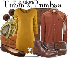Disney Outfit: Timon and Pumbaa :)
