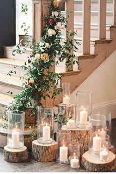 Lovely rustic wedding decoration! #rusticwedding