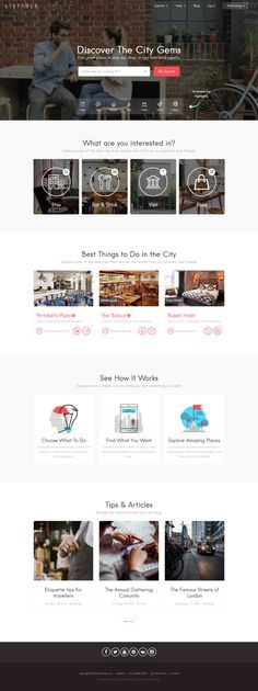 LISTABLE – A Friendly Directory WordPress Theme | More themes: http://ibrandstudio.com/inspiration/best-wordpress-themes-directory-listings