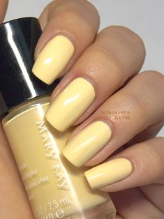 Mary Kay Nail Polish in Lemon Parfait Hello, Sunshine Collection