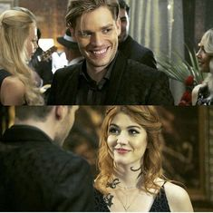 Jace et clary Clary Fray, Clary Et Jace, Isabelle Lightwood, Jace Lightwood, Shadowhunters Tv Series, Shadowhunters The Mortal Instruments, Sebastian Shadowhunters, Shadow Hunters Cast, Grey's Anatomy