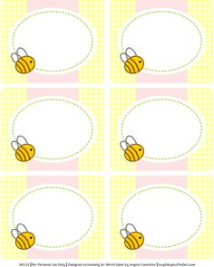Baby Shower Ideas Bumble Bee Free Printables 28 Ideas For 2019 Free Baby Shower Printables, Baby Shower Labels, Baby Shower Themes, Baby Boy Shower, Shower Ideas, Shower Set, Shower Games, Party Printables, Free Printables