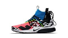 ACRONYM x Nike Air Presto Mid (Racer Pink/Photo Blue/White-Black) release date sneaker shoe 2018 Nike Presto, Adidas Nmd, Nike Shoes Outfits, Shoes Sneakers, Hot Shoes, Sneakers Fashion, Nike Air, Black White, Photo Blue