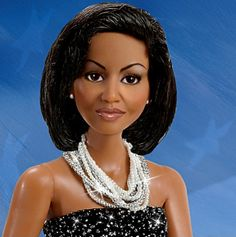 OMG--I love it!  Michelle Obama doll!  So beautiful--they got her eyes perfectly!