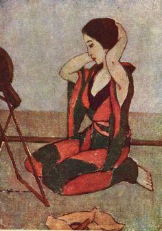 """Takehisa Yumeji, 1915, """"Samisen-kusa"""" (Shamisen Leaves), book of poetry. (14)"""