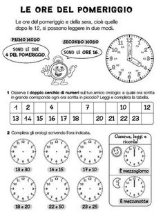 Risultati immagini per storie autunno scuola primaria Primary Maths, Primary School, Social Service Jobs, English Time, Learning Italian, Telling Time, Math For Kids, Teaching Math, Problem Solving