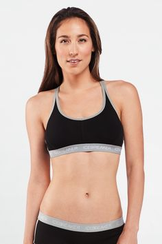 Sprite Racerback Bra | The sporty Sprite Racerback Bra, from our Premium Underwear collection, is built from Ultralight merino with a touch of LYCRA® for a great fit.