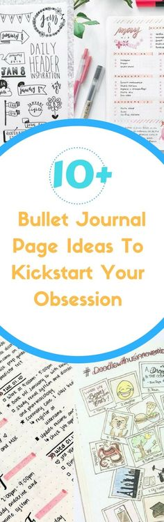 Welcome to the world of Bujo obsession! Not your typical planner...oh no. Bullet Journals are so much more than that. Get started today with these easy bullet jouranl ideas that will have you wanting more.