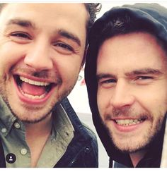 Adam Thomas and Danny Miller