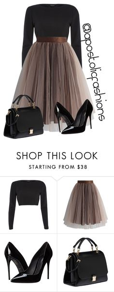 Apostolic Fashions #1215 by apostolicfashions on Polyvore featuring River Island, Chicwish, Dolce&Gabbana and Miu Miu
