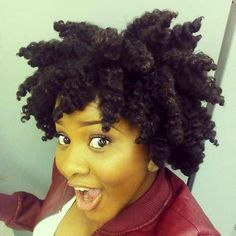 The perfect chunky twist out!