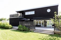 My Lovely Things Black House Exterior, Forest House, Big Houses, Ideal Home, Garden Styles, Future House, Beautiful Homes, Outdoor Living, House Plans