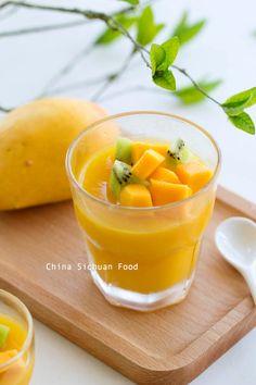 Chinese Mango Pudding | China Sichuan Food