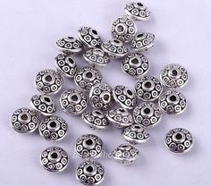 10//30//120pcs Tibetan silver//gold solid Lovely Owl Charm Spacer Bead Fit Bracelet