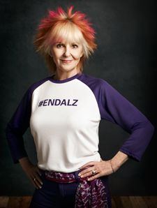 As an #Alzheimer's Association Celebrity Champion, actress Shelley Fabares is committed to the fight against Alzheimer's disease.  www.alz.org/wam #EndALZ #Brain