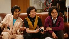 Leonard, Howard, and Raj in 'The Big Bang Theory' - The Best TV Flashback Looks - Photos