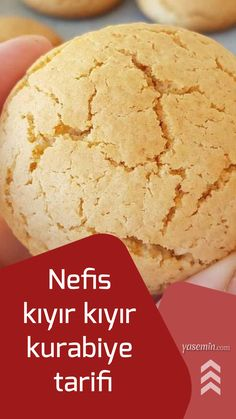 We have a nice recipe for those who want to prepare practical cookies at home instead of the cookies you buy without knowing what is in the bakeries. Crunchy Cookies Recipe, Cookie Recipes, Turkish Kitchen, How To Make Cookies, Cornbread, Bakery, Food And Drink, Tasty, Sweets