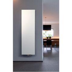 Vasco Niva S NS1L1 designradiator verticaal enkel 540X1820mm 948 watt wit structuur (S600) - 11197054018201188060 - Sanitairwinkel.nl
