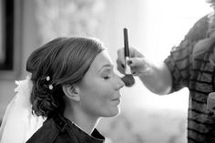 Hair and Makeup for Stephanie's big day by Serenity Hair Salon