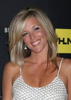 ... wright new haircut 2013 | Laura Wright - Straight hairstyles More