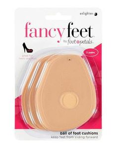 Fancy Feet Ball of Foot Cushions - Three Pairs Wide Shoes, New Shoes, High Heel Protectors, Gel Cushion, Shoes Too Big, How To Make Shoes, Dream Shoes, Dress And Heels, Helpful Hints