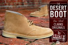 The perfect in-between of casual and dress -- nicer than a sneaker but more relaxed than a dress shoe -- the desert boot provides a great way for looking smart in the warmer months without suffocating your feet.