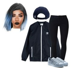 """""""Untitled #3184"""" by yourmajestyjordine ❤ liked on Polyvore featuring adidas Originals, STELLA McCARTNEY, Polo Ralph Lauren, women's clothing, women, female, woman, misses and juniors"""