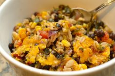 Vegetable Barley Casserole