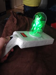 Homemade Rick and Morty portal gun cosplay & His spiky light blue hair is enough reason to dress up as Rick from ...