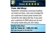 Reputation marketing's amazing at getting our brand out there. John even arranged for our...