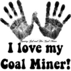 I love my coal miner! (: