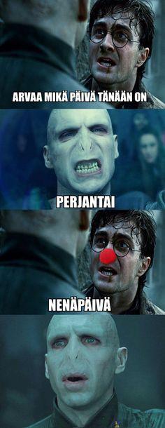 Voldemort parka ei voi juhlia