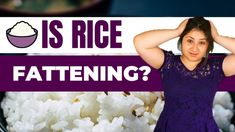 Is rice a good food for weight loss? Or is it causing you to gain weight? People have been eating rice for thousands of years. It is cultivated in many countries and it's a staple in many cultures. But as with many foods, people want to know if rice is a 'healthy'/'good' food to eat to lose weight. In this video I will answer the question 'is rice a good food for weight loss'/is rice making you fat. Nutrition Tips, Diet Tips, Polycystic Ovarian Syndrome, Best Weight Loss Foods, Pcos Diet, Good Foods To Eat, Weight Gain, Rice, Healthy