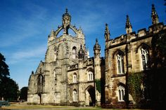 Aberdeen's first university established in Kings College - Aberdeen, Scotland Scotland Tourism, Scotland Travel, Places Around The World, Around The Worlds, Aberdeen University, Granite City, Aberdeen Scotland, Famous Castles, Inverness