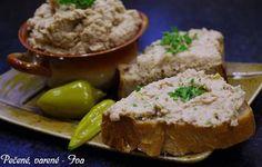Tradiční pomazánky - vajíčková, tvarohová, tuňáková jsou klasikou v každé kuchyni. Připravte si náterku z pečeného vepřového masa. Mňam! Chutney, Parmesan, Low Carb Keto, Kids Meals, Ham, Mashed Potatoes, Dips, French Toast, Pork