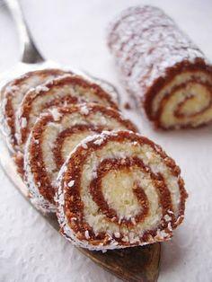Astal Kuhinja Ravnice: Roll with hazelnuts and coconut/Rolada od lešnika i kokosa