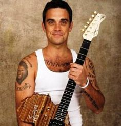 Robbie Williams- totally forgot about him. What a cutie!