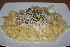 Ingrédients pour 2 pers. : Tagliatelles à satiété (4 pts/pers.)100 g de Fine de Bacon Herta (2,5 pts) 1 oeuf (2,5 pts) ...